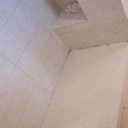 fent banc dins dutxa