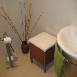 detall petit lavabo