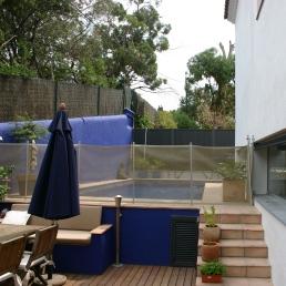 piscina i terrassa barbacoa