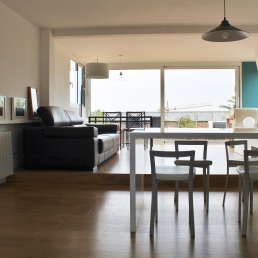 reforma cocina sala de estar.