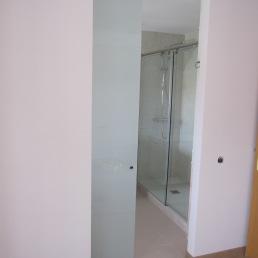porta corredissa de vidre